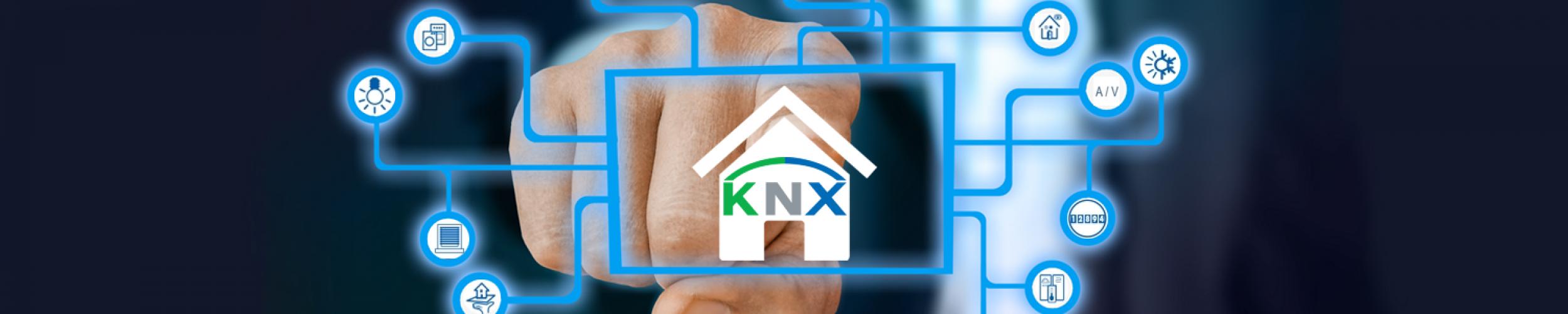 KNX vergroot de veiligheid. KNX zorgt voor meer comfort. KNX creëert energiezuinige woningen en gebouwen