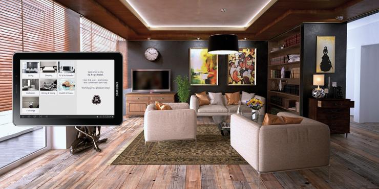 Uw domotica, Smart Home sturen en bedienen via de smartphone of tablet dankzij de visualisatie met ayControl